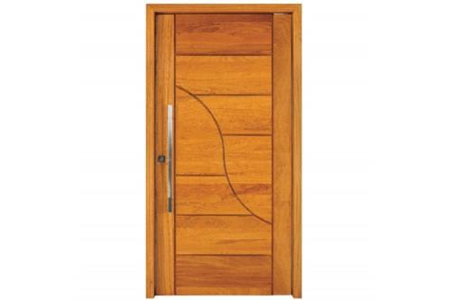 Porta Pivotante em Madeira Maciça angelim 210 x 100cm Na ( porta sobre encomenda) verificar preço.  Prazo de entrega 20 a 30 dias